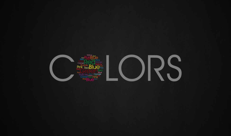 typography, desktop, серый, цвет, widescreen, colors, картинка, art,