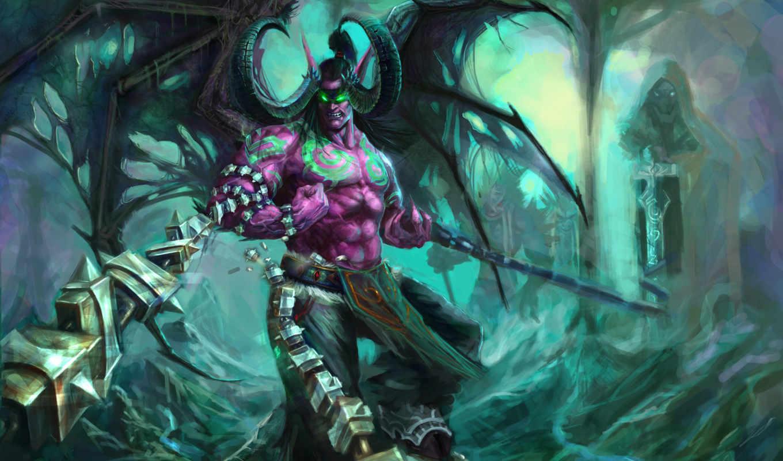 warcraft, world, монстр,