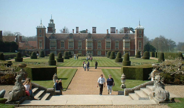 uk, hall, blickling, дворцы, крепости, замки,