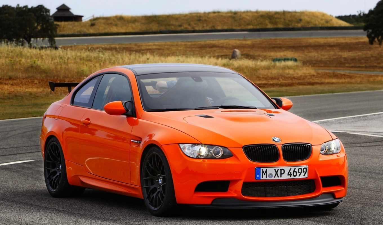 bmw, gts, photo, orange, car,