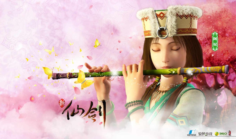 китаянка, паладин, меч, сказание, фея, fantasy, wuxia, девушка,