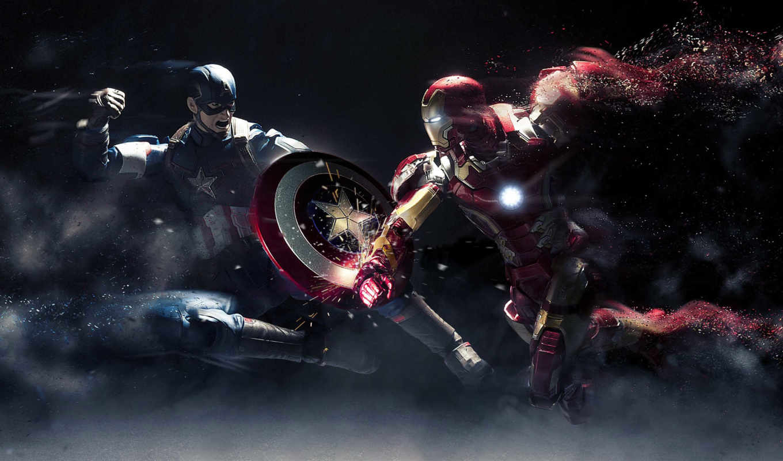 initial, avenger, captain, america, противостояние, war, civil,