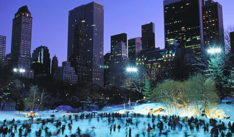 park, нью, центральный, new, york, йорке,