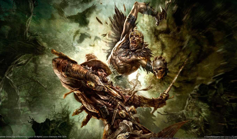 warhammer, fb, online, игры, fantasy, witch, hunter, age, games,