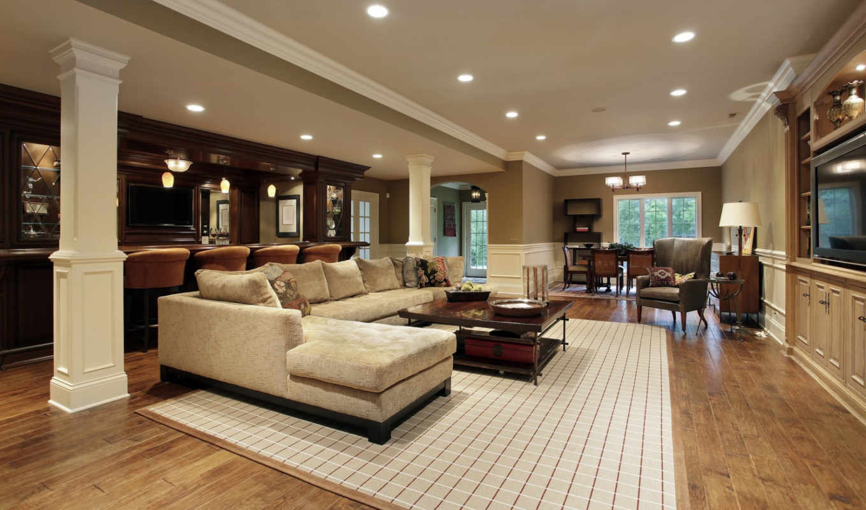 living, кресла, комната, тв, интерьер, диван, bar, home, картинка,