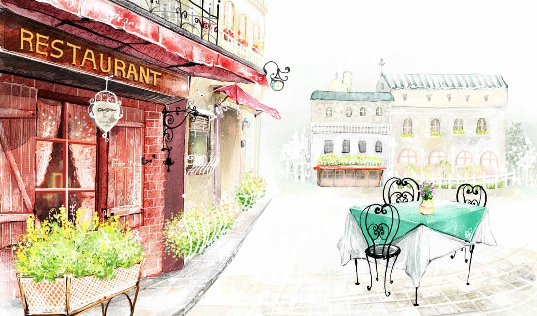 art, fantasy, world, cartoon, graphics, ресторан, рисунок, normal, digital,