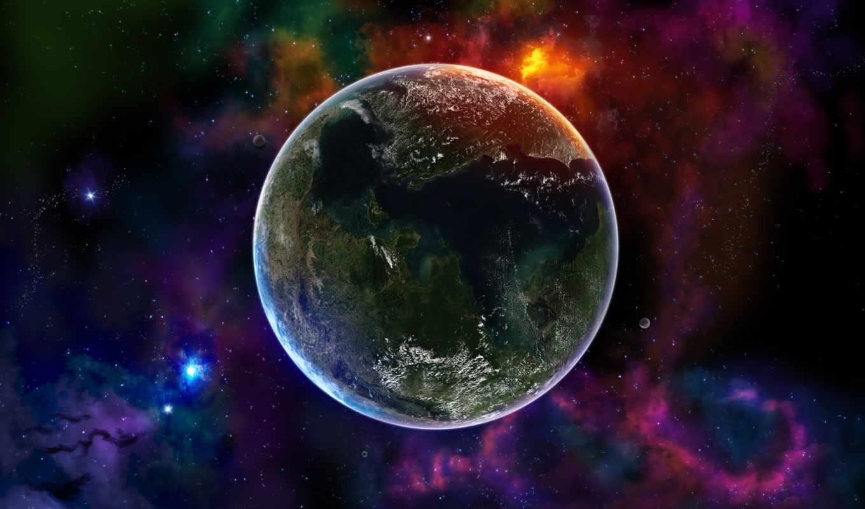 планета, космос, планеты, земля, коллекция, космоса, картинка,