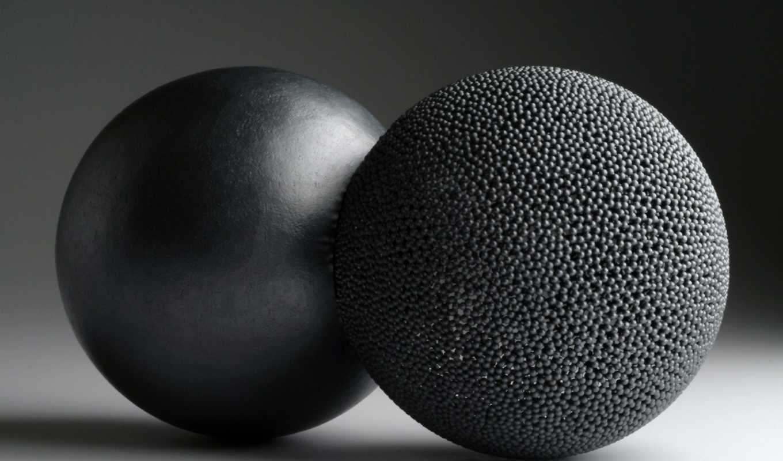 шары, черный,