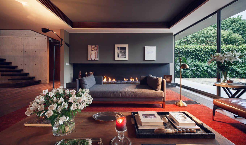 design, интерьер, комната, современный, stylish, living,
