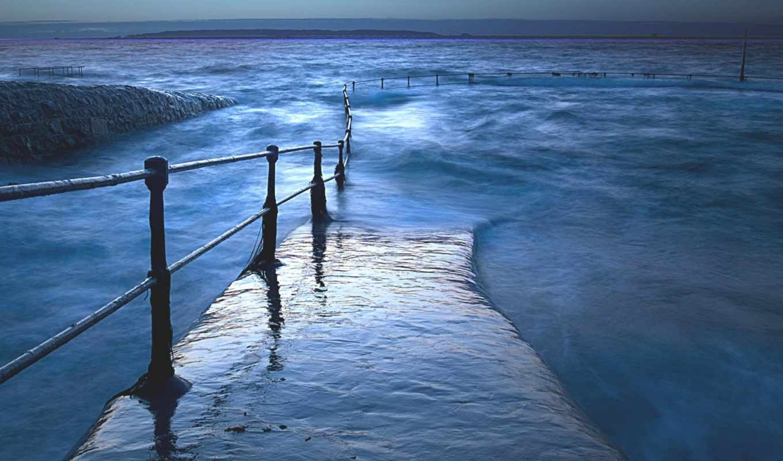 море, небо, теплое, ласковое, северное,