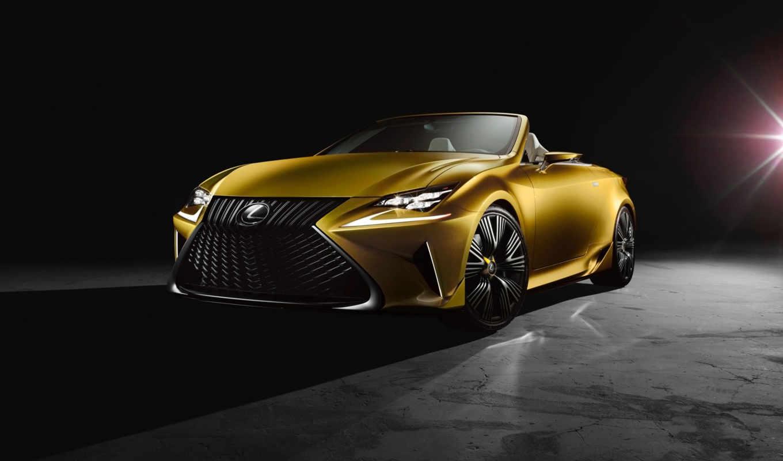 lexus, concept, кабриолет,