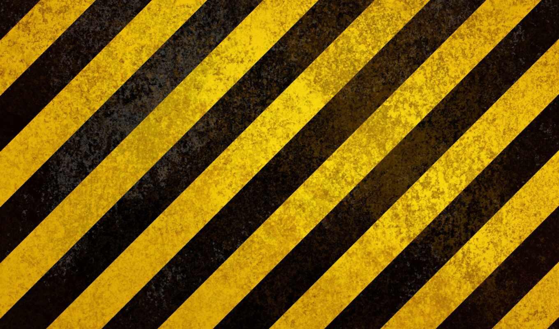 yellow, black, полосатый, construction, line, hazard, pattern, фото, текстура, plain