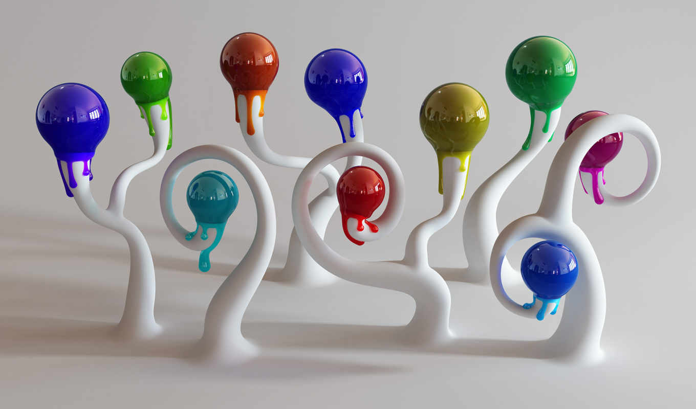 ipad, mnbb, bulbs, шарики, разноцветные,