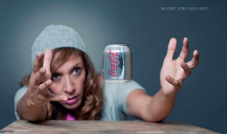 кока-кола, жажда, реклама, вода,