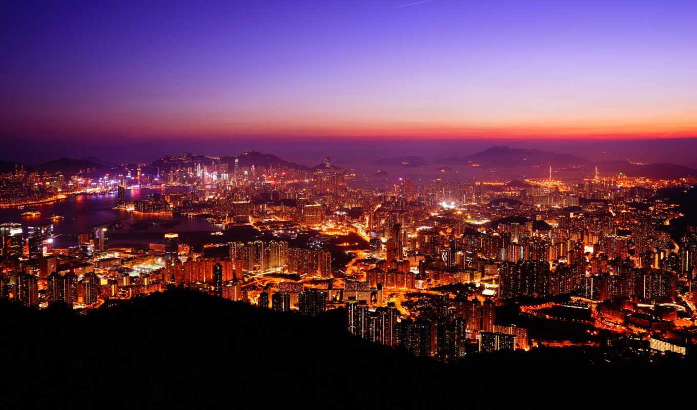 взгляд, point, kong, peak, kowloon, hong