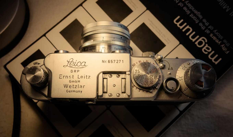 leica, фотоаппарат, взгляд, top