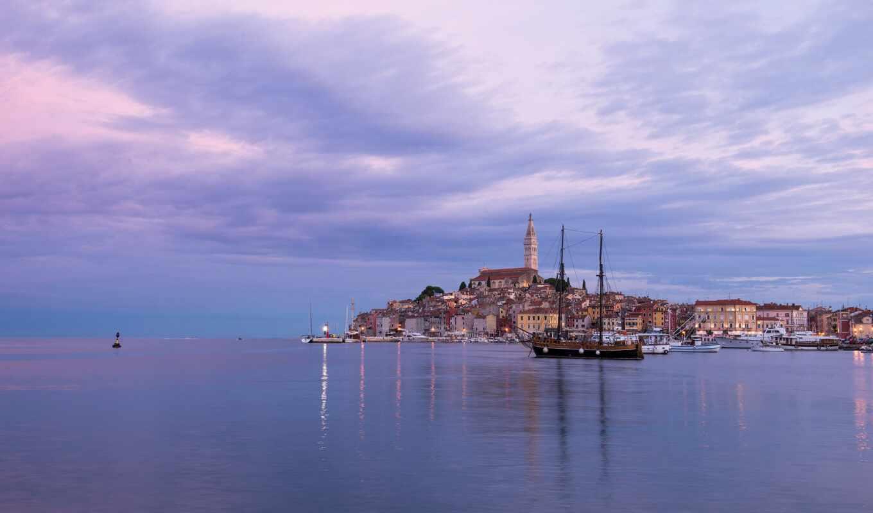 architecture, хорватия, море, build, alive, marine, небо, облако, istria, башня, design