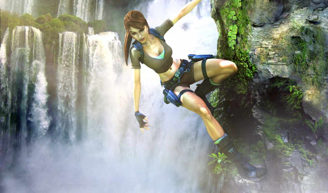 tomb, raider, legend, lara, croft, game,