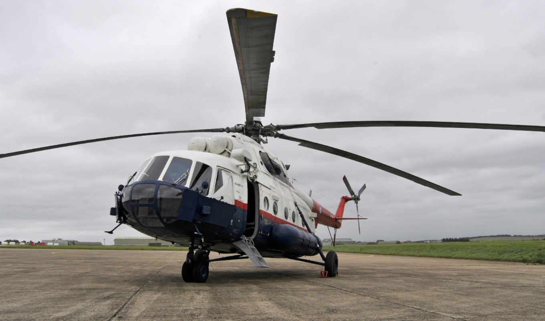 ми, вертолет, mil, изображение,