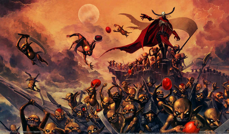 ад, армия, corps, нежить, существа, тролли,