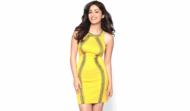 yami, gautam, платье, photos, high, yellow, wide,