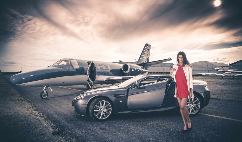 aston, martin, девушка, car, модель
