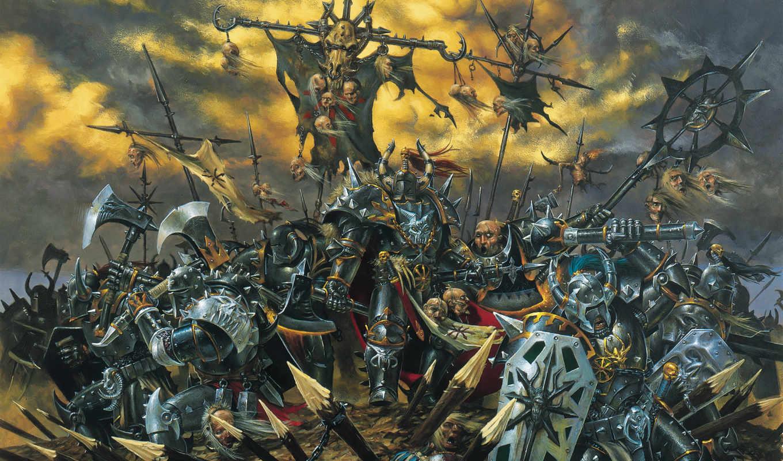 warhammer, chaos, картинка, игра, эпизод,