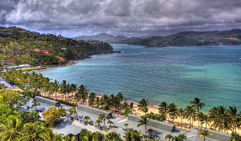 widescreen, пляж, free,