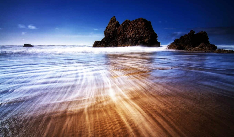 more, яркие, фотки, позитивные, скалы, волны,