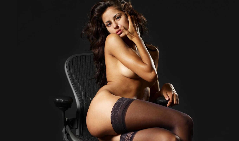 devushki, девушка, обнаженная, кресле, сидит, альбома,