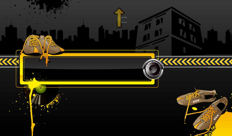 fondo, pantalla, negro, вектор, fondos, amarillo, música, gratis, fotos,