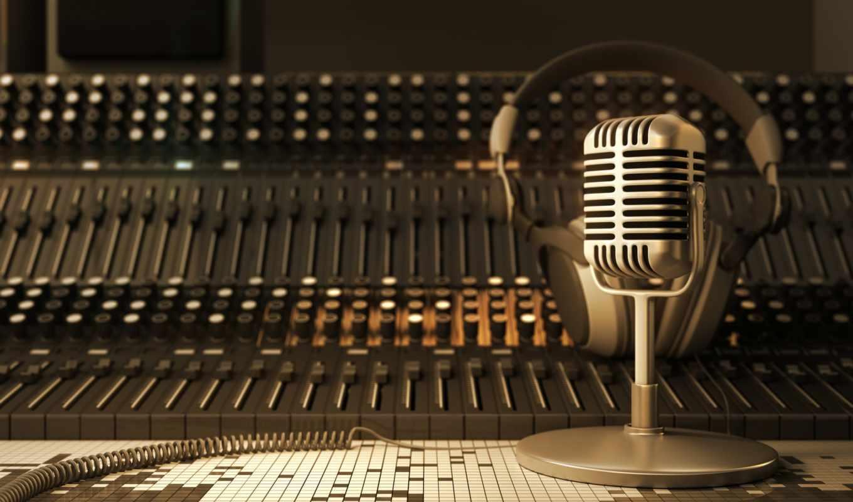 recording, studio, радио, stock, photos, free, микрофон,