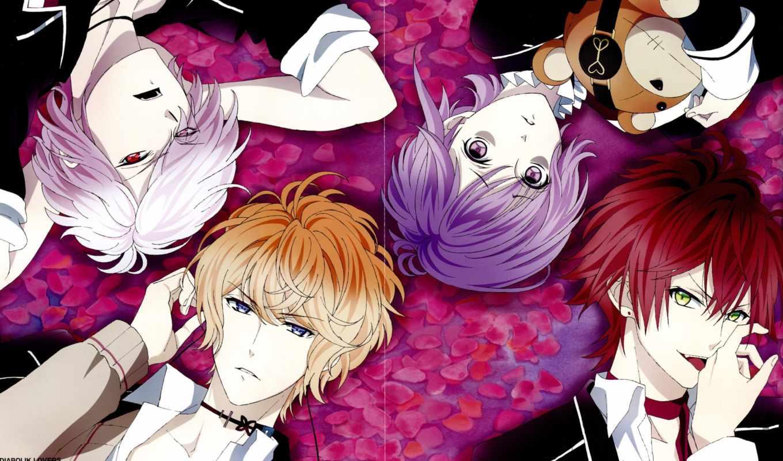 anime, дв, lovers, особняк, join, уи, mika, дьявольские, возлюбленные,