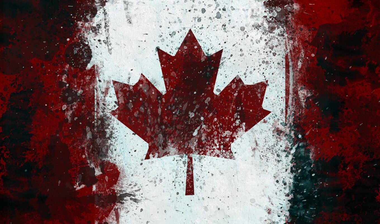 канада, флаг, maple, лист, возможность, ipad, канадский,
