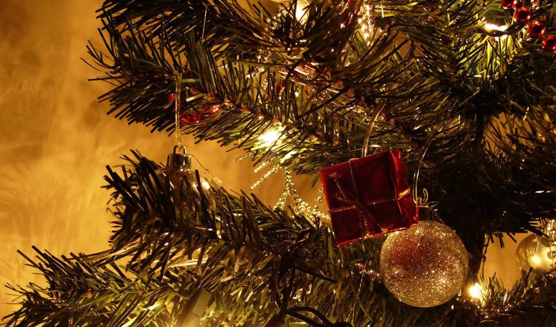 год, new, christmas, праздники, дерево,
