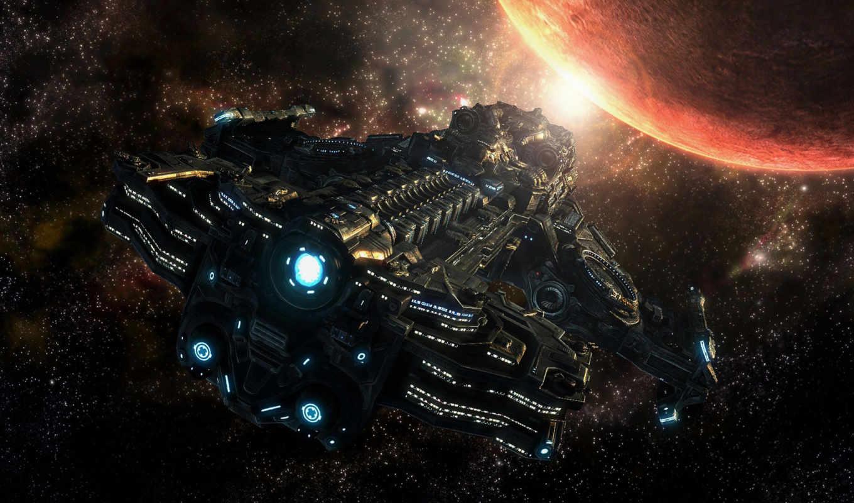 starcraft, battlecruiser, game,