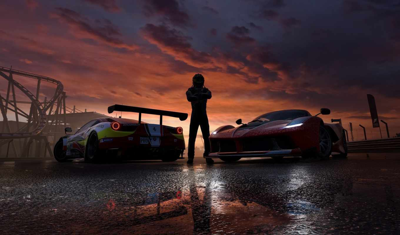 forza, motorsport, game, мужчина