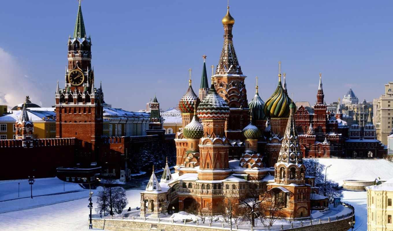 москва, кремль, россия, красная, площадь,