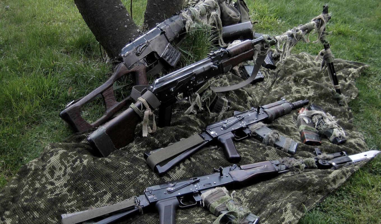 винторез, vss, винтовка, снайперская, автомат, АКС74У, АКС74М, штык-нож, сошки, магазин