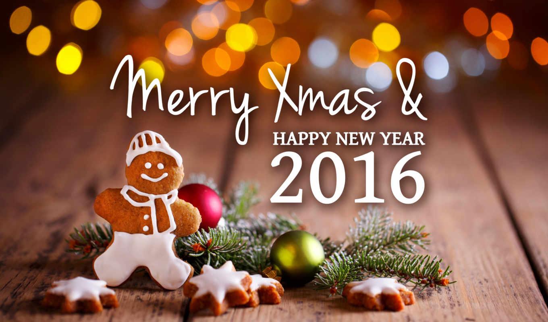 год, new, праздники, обезьяны, картинка, дек,