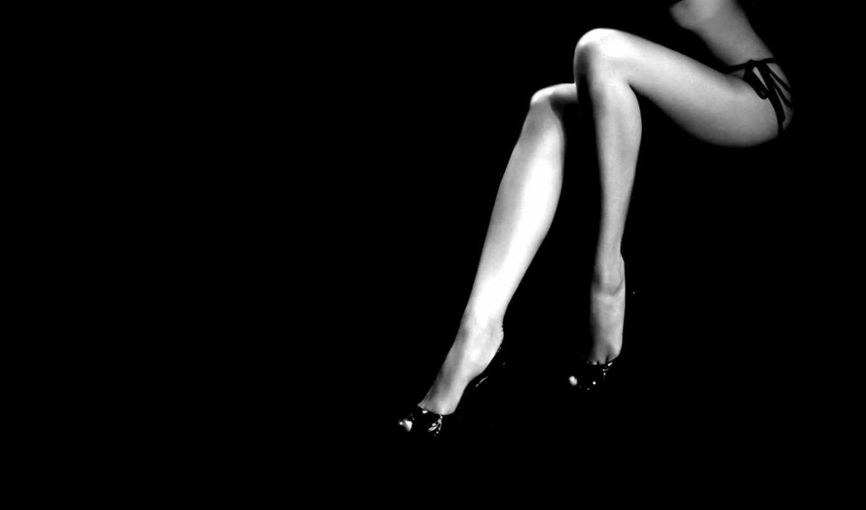 ноги, женские, минимализм, black, стройные, чёрно, белое,