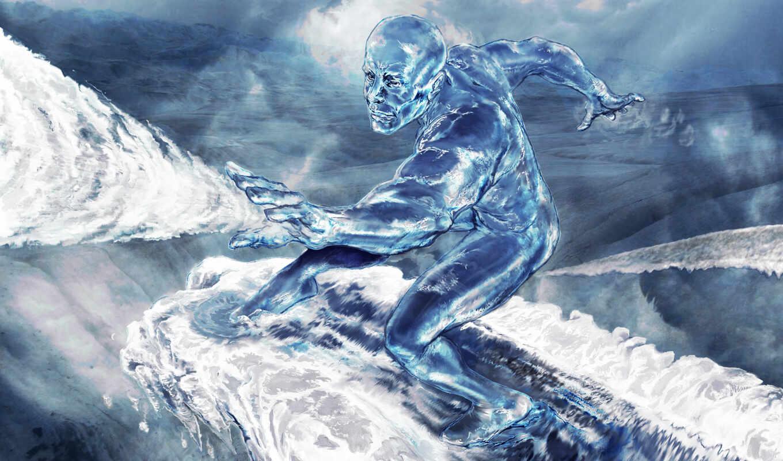 ultimate, alliance, marvel, www, iceman, игры, surfer, widewallpapers, filep, part, info, comic, fantasy, desktop,