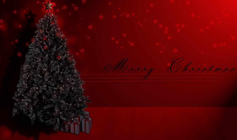 качественные, красивые, красивая, рождественская, елка, рождество,