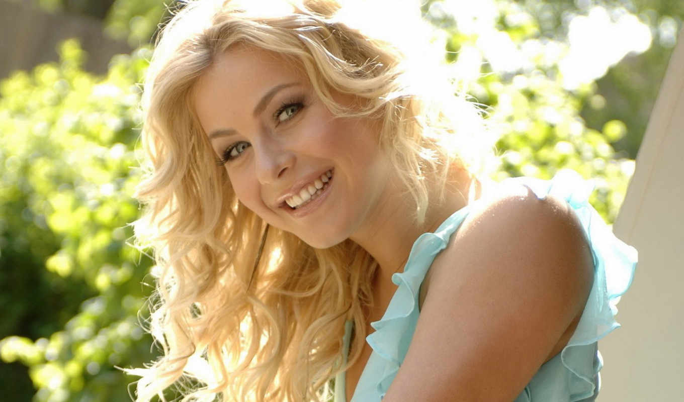 women, julianne, hough, blondes, faces, desktop, smiles,