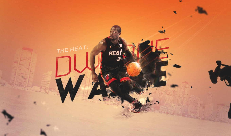 wade, dwyane, miami, heat, уэйд, дуэйн, хит, картинка, картинку, tyrone,