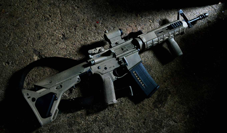 винтовка, magpul, штурмовая, оружие, военная, техника, наборе, картинок, карабин, типа, разного,