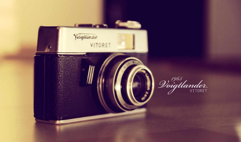 camera, old, lens