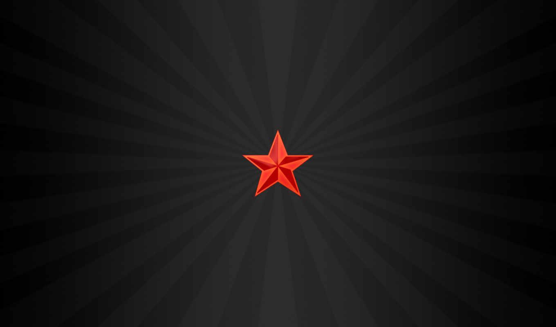 красное, звезда, минимализм, desktop, zvezda,