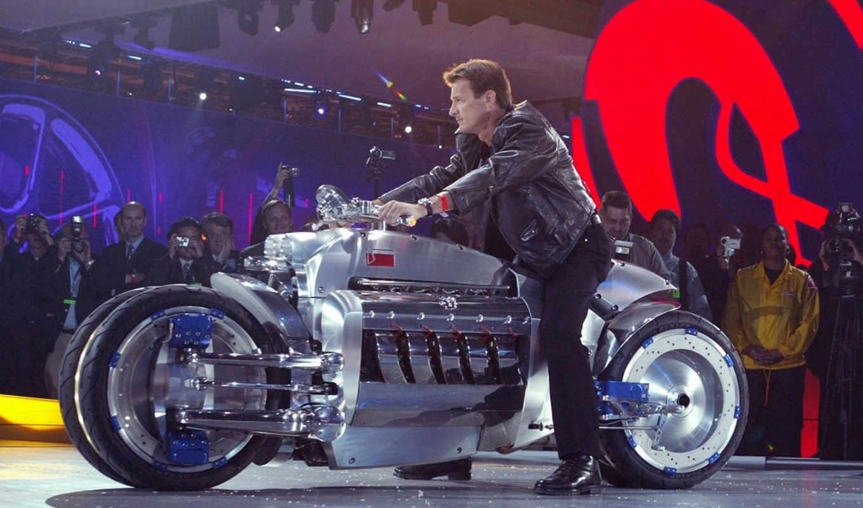 dodge, tomahawk, concept, attachment, motocycles, мотоциклы,