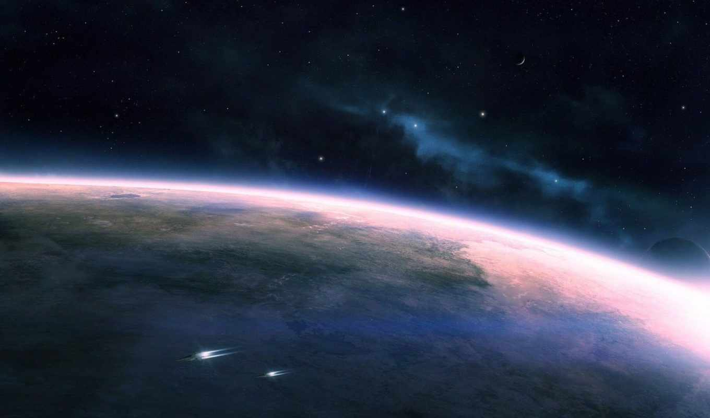 космос, планета, звезды, корабли, картинка, картинку,